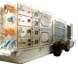 2MVA Mobile Substation / Dual 500KW DOL Conveyor Starter